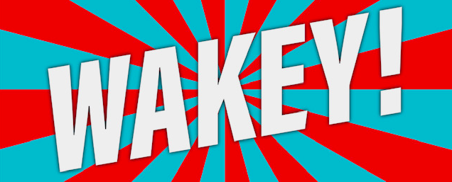 Wakey logo