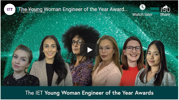 IET WYE awards evening video link